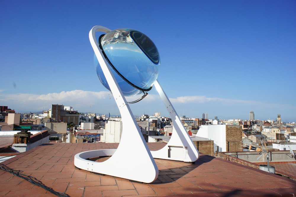 Spherical solar energy generator