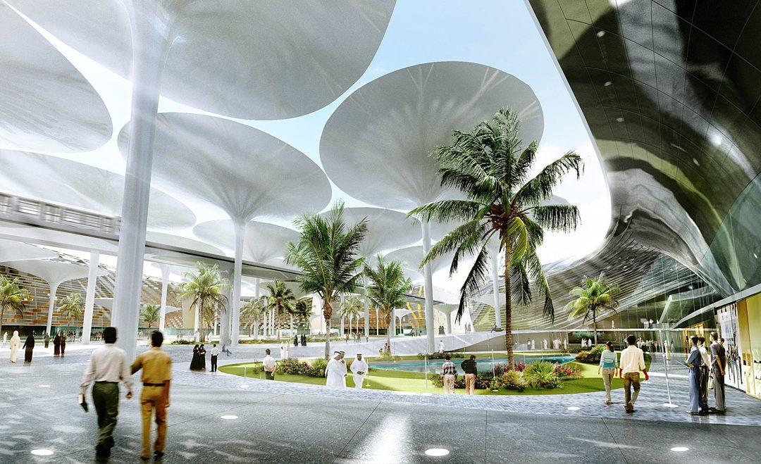 Masdar City, a sustainable eco-city