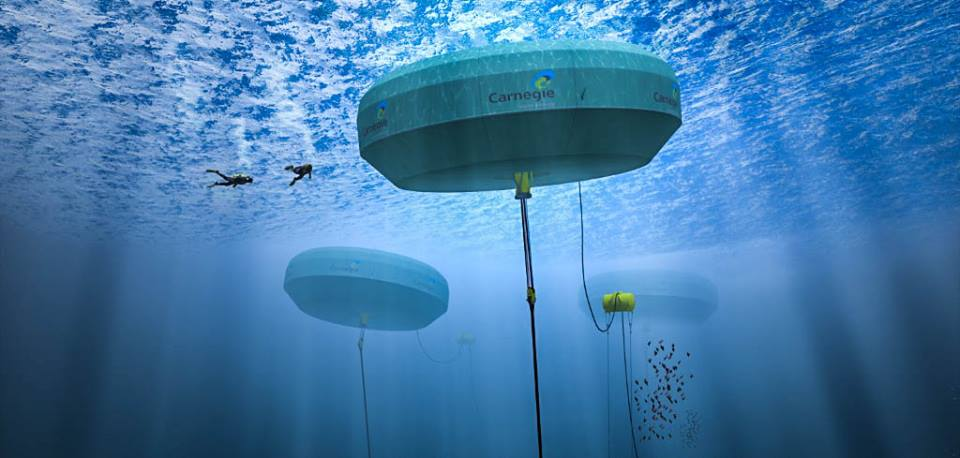 Wave energy and water production