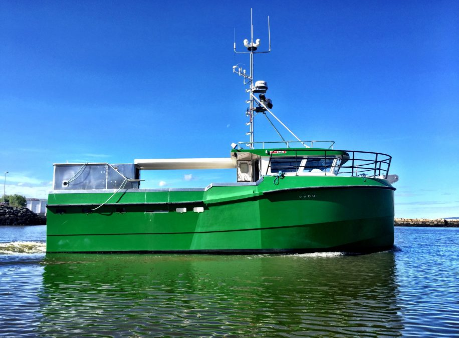 World's first electric fishing boat