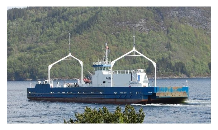 Hydrogen ferry in Norway