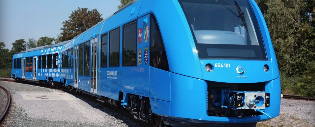 Hydrogen powered passenger train