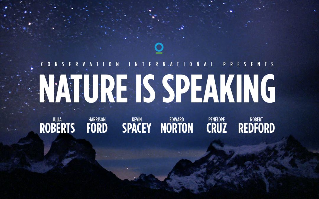Conservation Intern. presents NATURE IS SPEAKING