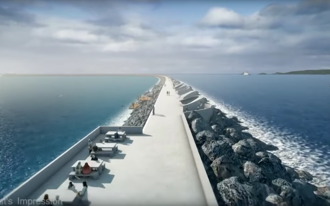 The world's first tidal lagoon