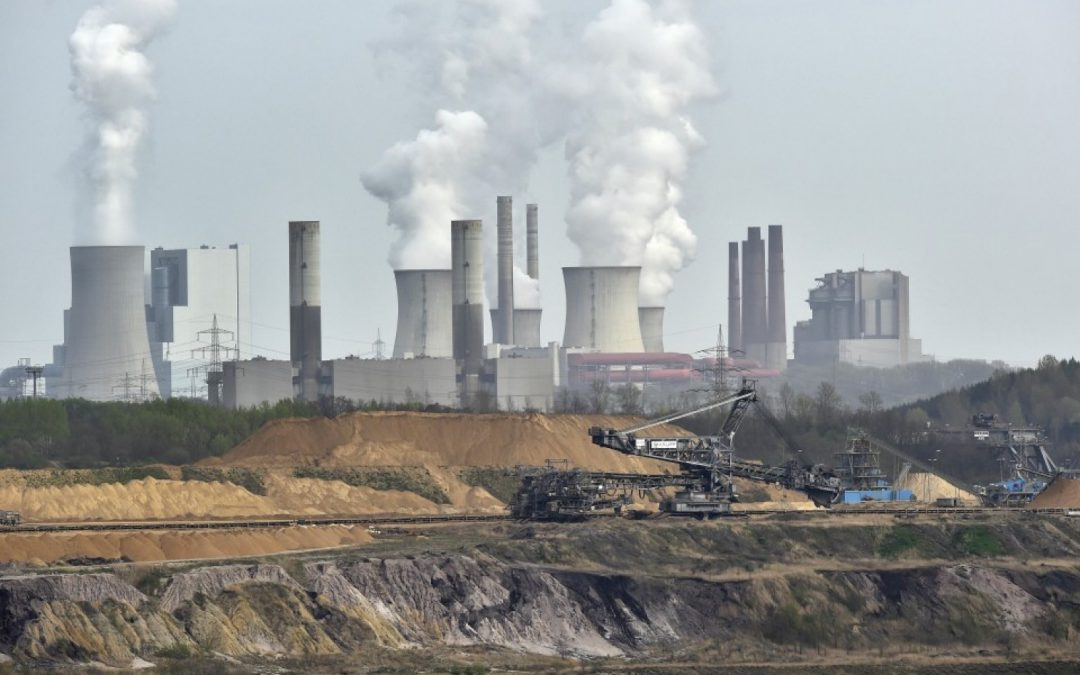 Carbon emissions were flat for the third straight year