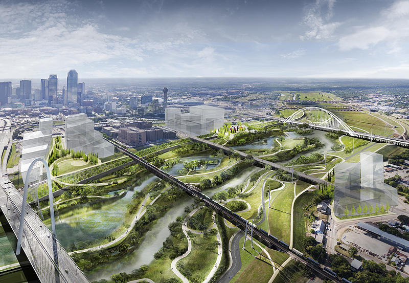 Dallas is building one of America's biggest urban nature parks