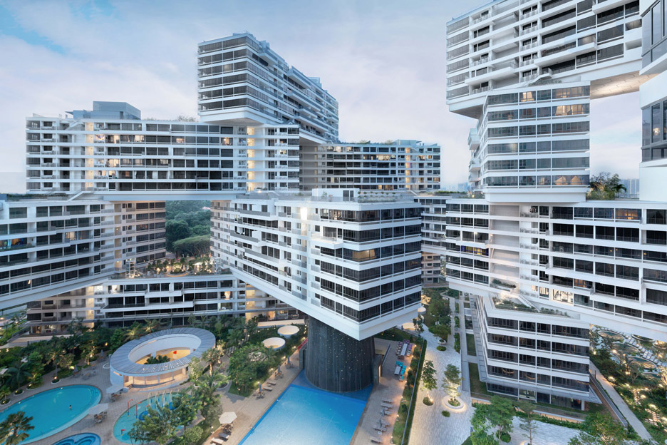 The Interlace – a community designed building