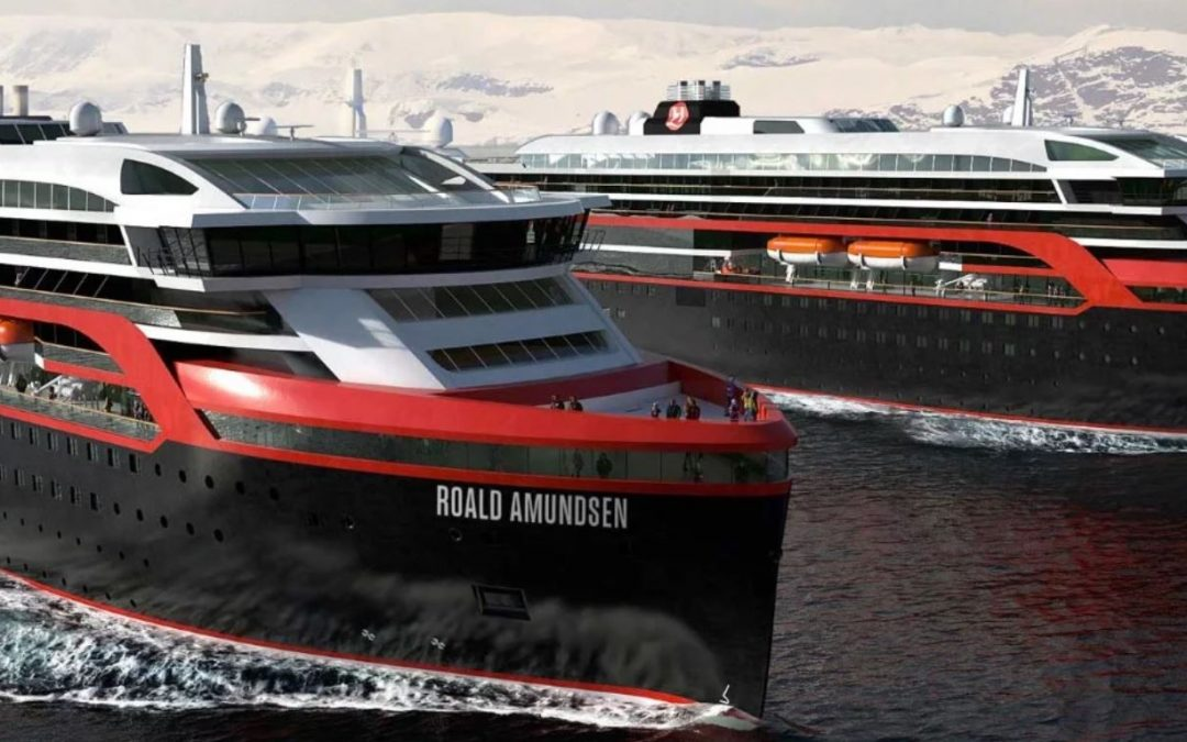 The world's first hybrid cruise ships